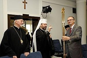 Sviatoslav Shevchuk - Patriarch Sviatoslav Shevchuk in the Polish Senate