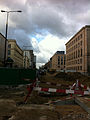 Swietokrzyska Street closed for Metro construction - west.jpg