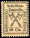 Switzerland Biel Bienne 1902 revenue 80c - 15.jpg