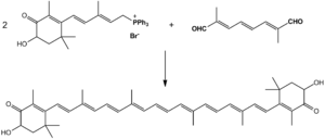 Astaxanthin - Synthesis of astaxanthin by Wittig reaction