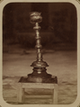 Syr-Darya Oblast. City of Turkestan. Mosque of Saint Sultan Akhmed Iassavi. Candlestick Donated by Emir Timur Kuragan WDL3878.png