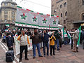 Syrian National Coalition Milan supporters 17-11-2012.jpg
