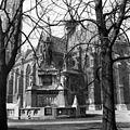 Szent István szobra (Stróbl Alajos, 1906.) a Mátyás-templom és a Halászbástya között. Fortepan 56827.jpg
