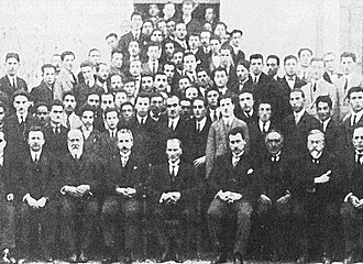 Atatürk's Reforms - Members of the first Parliament, 1921
