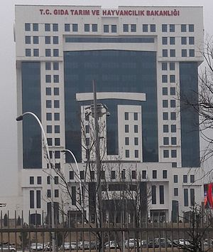 Ministry of Food, Agriculture and Livestock (Turkey) - Image: T.C. Gıda, Tarım ve Hayvancılık Bakanlığı
