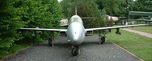 PZL TS-11 Iskra - TS-11 Iskra bis B – front view