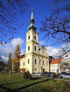 St. Catherine of Alexandria Church, Budapest Church in Budapest, Hungary