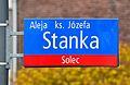 Tablica MSI aleja ks. Józefa Stanka.JPG