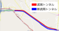 Takeoka Tunnel map.png