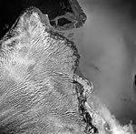 Taku Glacier, terminus of tidewater glacier, August 30, 1974 (GLACIERS 6213).jpg