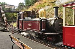 Taliesin at Tan-y-Bwlch railway station (8319).jpg