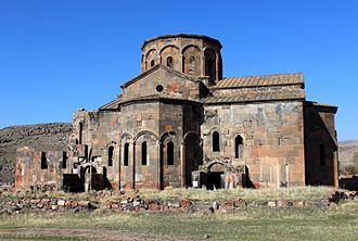 Talin, Armenia - The 7th-century Cathedral of Talin