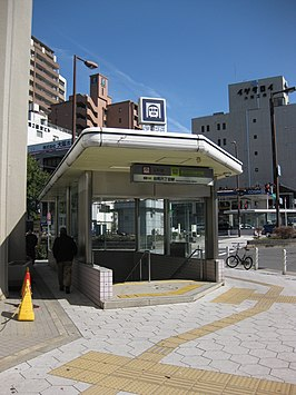 Tanimachi 6-chome Station 5th Exit.JPG