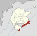 Tashkent city (Uzbekistan) Bektemir district (2018).png