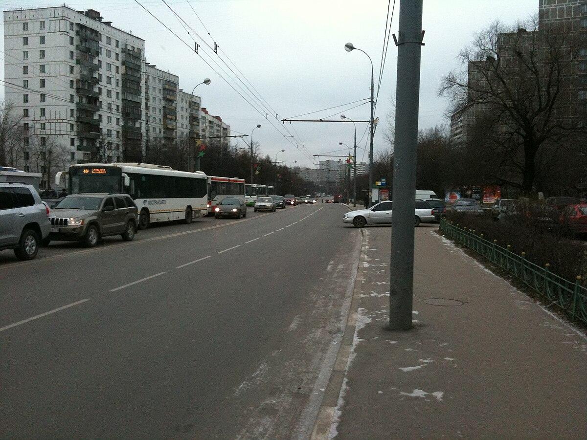 схема проезда от новогиреево до ул новая 21