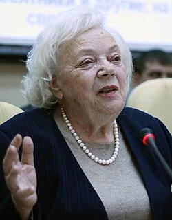 Tatyana Zaslavskaya Soviet and Russian sociologist and economist