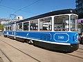 Tatra KT4TMR Tram 140 at Hobujaama Stop in Tallinn 17 May 2019.jpg