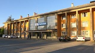 Tatvan railway station
