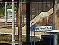Tczew, nádraží, cedule.JPG
