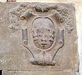 Tds, Palazzo dei Commissari o del Pretorio, cortile, stemma porta 03 frescobaldi.JPG