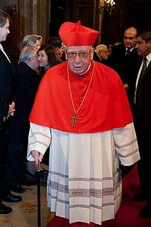 Jorge Medina Catholic cardinal