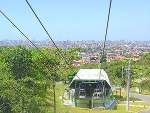 Sergipe - Aerial tramway in Aracaju.
