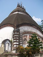 Temple of Shyamchand at Santipur town 03.JPG