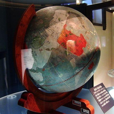 紙張子製地球儀
