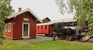 "Urskog–Høland Line - No.2 ""Urskog"" and Killingmo Station at the Norwegian Railway Museum"