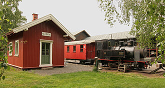 "Urskog–Høland Line - No.2 ""Urskog"" and Killingmo Station at the Norwegian Railway Museum"