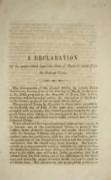Texas Declaration of Causes of Secession.djvu