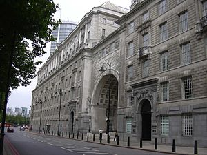 MI5 - Part of Thames House