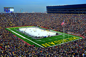 The Big Chill at the Big House - Michigan vs Michigan State