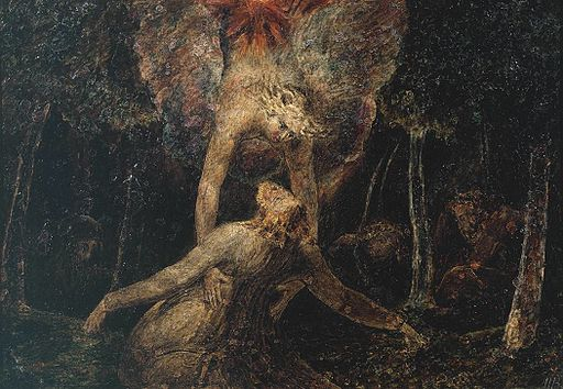 The Agony in the Garden William Blake