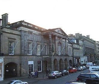 Charlotte Chapel (Edinburgh) - Assembly Rooms (Edinburgh) site of the Chapel's Bicentenary Luncheon.