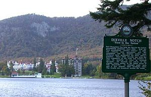 National Register of Historic Places listings in Coös County, New Hampshire - Image: The Balsam Hotel in Dixville Notch, New Hampshire