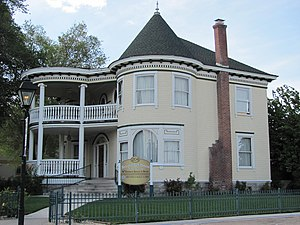 National Register of Historic Places listings in Carson City, Nevada - Image: The Brougher Mansion
