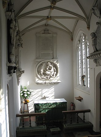 John Egerton, 1st Earl of Bridgewater - The Bridgewater Chapel at St. Peter and St. Paul Church, Little Gaddesden, where many Egerton family members are buried