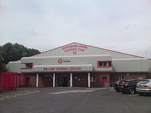 The Cliff (training ground) - The administrative building at The Cliff