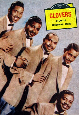 The Clovers - The group in 1957.
