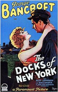 <i>The Docks of New York</i> 1928 film by Josef von Sternberg