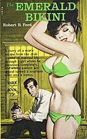 The Emerald Bikini by Robert B. Ford - Illustration by Bill Edwards - Saber Book SA-43 1963.jpg