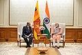 The Foreign Minister of Sri Lanka, Mr. Tilak Marapana calls on the Prime Minister, Shri Narendra Modi, in New Delhi on September 09, 2017 (1).jpg