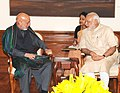 The Former President of Afghanistan, Mr. Hamid Karzai calling on the Prime Minister, Shri Narendra Modi, in New Delhi on May 23, 2015.jpg