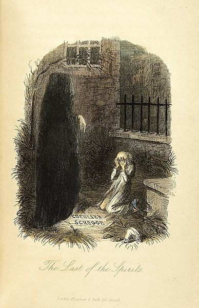 File:The Last of the Spirits-John Leech, 1843.jpg