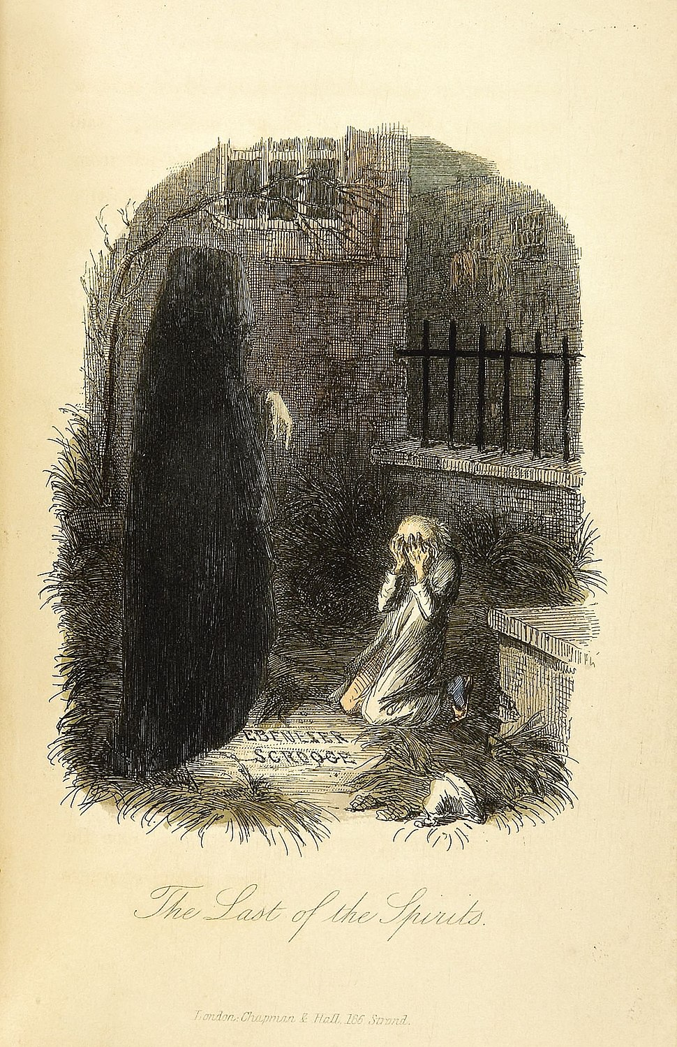 The Last of the Spirits-John Leech, 1843