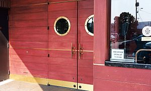 The Majestic Bay - Nautical styled doors