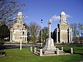 The Mistley Towers and War Memorial - geograph.org.uk - 1573783.jpg
