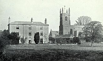 Great Casterton - The Rectory and Parish Church in 1912
