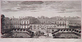 The Palais Royal in 1752 by Jacques Rigaud.png